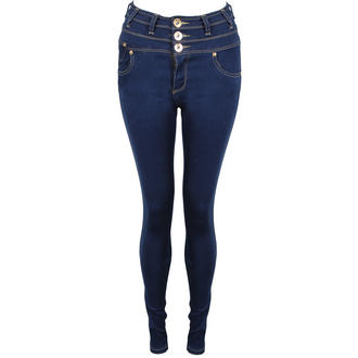 View Item Blue Super Skinny High Waist Jeans